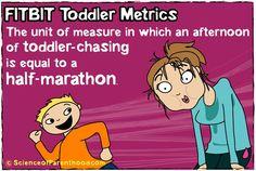 Scienceofparenthood.com - FITBIT Toddler Metrics