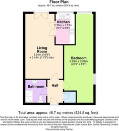 1 bedroom flat for sale in Bartholomew Court, Warrington, - Rightmove. 1 Bedroom Flat, One Bedroom, Property Listing, Property For Sale, Ceiling Light Fittings, Intruder Alarm, Fitted Bathroom, Extractor Hood, Tv Aerials