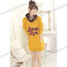 """Korean """"Global Love"""" hoodie, $11.49"""