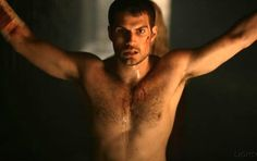 It has been revealed that Henry Cavill, the English actor who will play Superman in Christopher Nolan's upcoming Man of Steel, served as inspiration for the Christian Grey character.