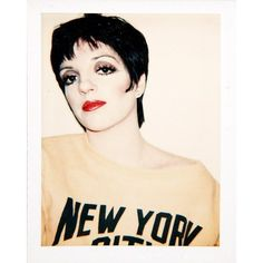 Liza Minelli, 1978, inside Andy Warhol's Factory. Head to VF.com to see more exclusive Warhol Polaroids. Photo courtesy of The Andy Warhol Foundation for the Visual Arts, Inc.