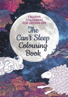 Soothe away your insomnia with some wonderfully relaxing colouring. Long acknowledged to be a truly relaxing activity, colouring can help with all sorts of stress-related problems - including sleeplessness. These beautiful patterns will help you to free your mind from your worries and refocus it on relaxation. So next time you find yourself feeling restless in bed, turn to The Can't Sleep Colouring Book, create some beautiful art and feel your cares drifting away.
