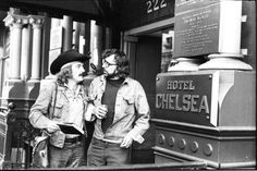 dennis hopper and terry southern chelsea hotel  http://under-overground.com/new-york-lieuxii.html#ANCHOR_Text2