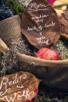 Red Riding Hood | Tablescape