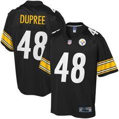 Bud Dupree Pittsburgh Steelers NFL Pro Line Big   Tall Player Jersey - Black 02ac1a7cc