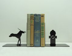 Metal Fire Hydrant Bookends   Dog Milk