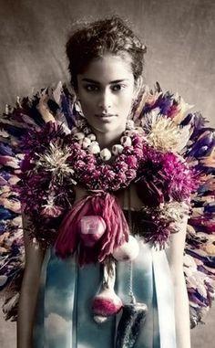Publication: Vogue Italia January 2013. Photographer: Paolo Roversi.
