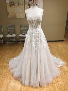 Wonderful Perfect Wedding Dress For The Bride Ideas. Ineffable Perfect Wedding Dress For The Bride Ideas. Boho Wedding Dress, Dream Wedding Dresses, Bridal Dresses, Wedding Gowns, Prom Dresses, Court Dresses, Ethereal Wedding Dress, Lace Wedding, Elegant Wedding