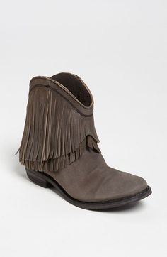 Liberty Black Short Fringe Boot available at #Nordstrom