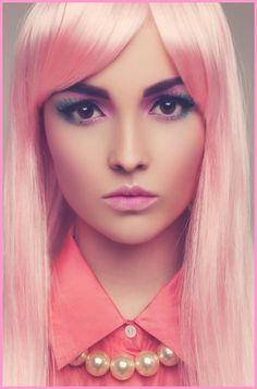 I WANT!Pastel pastel pastel pink hair!