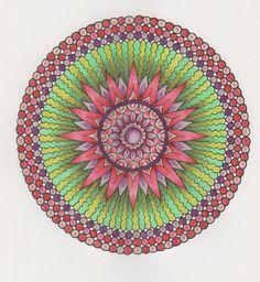 More Mystical Mandalas 013 with pencils