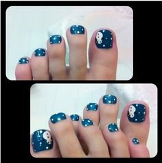 Nails Toe Design Sparkle Ideas For 2019 Pedicure Designs, Toe Nail Designs, Manicure And Pedicure, Pedicures, Pedicure Ideas, Nails Design, Nail Ideas, Toe Nail Art, Toe Nails
