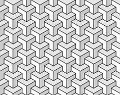 geometric pattern abstract monochrome - Google Search