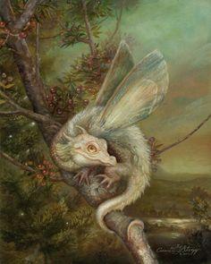"celtic-forest-faerie: ""{Draco Floris} by {Annie Stegg} """