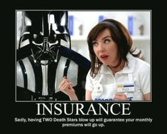 Best Free Insurance Humor Star Wars You would think bundling Death Stars, speede. Best Free Insurance Humor Star Wars You would think bundling Death Stars, speeder bikes, A… Styl Insurance Humor, Insurance Marketing, Cheap Car Insurance, Health Insurance, Flo Progressive Insurance, Progressive Auto, Insurance Website, Insurance Business, Humor