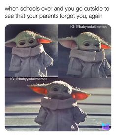 Funniest Baby Yoda Memes Ever, Collected Baby Yoda Memes, Star Wars Mandalorian Memes, The Most Relatable Baby Yoda Memes Funny Shit, Yoda Funny, Yoda Meme, Stupid Funny Memes, Funny Relatable Memes, Hilarious, Funny Stuff, Star Wars Meme, Star Wars Witze