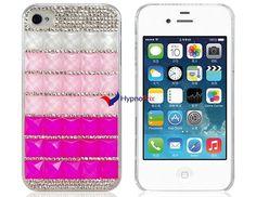 Housse de protection Design Rhinestone pour l'iPhone 4 s/4