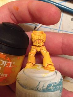Easy Way to Paint Yellow Armour