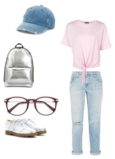 """""""Casual"""" by lunastrums on Polyvore featuring Charlotte Olympia, 3.1 Phillip Lim, Current/Elliott, Boohoo and Mudd"""