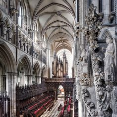 Gothic Architecture in HDR by fotofacade, via Flickr