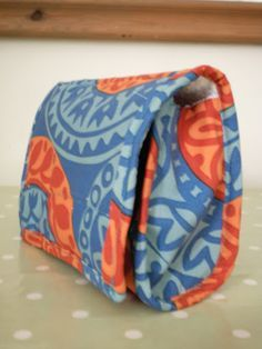Towelling toiletries bag | Soresourceful