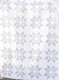 Modern, Two-tone Quilt Block Pattern