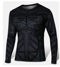 Get your sexy super-hero on with this jersey slim fit style shirt! Consisting of polyester and lycra and coming in many different styles, sizes, and either short or long sleeves - choosing just one is