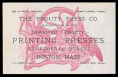 I like the sideways printing press.