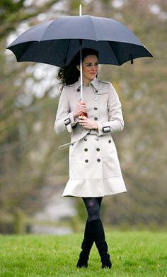 Kate Middleton's Burberry Trench