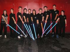 LudoSport International is a Italian combat academy that trains students in martial arts based on the lightsaber fights from the Star Wars franchise. Lightsaber Fight, New Academy, Star Wars Light Saber, Academia, Martial Arts, Competition, Improve Yourself, Battle, San Francisco