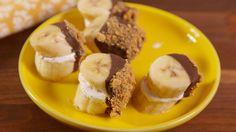 S'mores Banana Bites