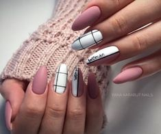 Try some of these designs and give your nails a quick makeover, gallery of unique nail art designs for any season. The best images and creative ideas for your nails. Best Acrylic Nails, Summer Acrylic Nails, Matte Nails, Summer Nails, Stylish Nails, Trendy Nails, Nail Manicure, Gel Nails, Glitter Nails