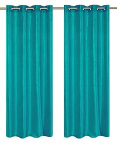 Agrémentez vos fenêtres en toute beauté avec les riches panneaux Silkana en fausse soie.