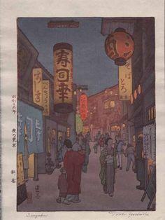 Toshi Yoshida - Shinjuku 1938