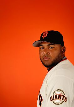 Pitcher Jean Machi #63 of the San Francisco Giants poses for a portrait during spring training photo day at Scottsdale Stadium on February 27, 2015 in Scottsdale, Arizona. (February 26, 2015 - Source: Christian Petersen/Getty Images North America)