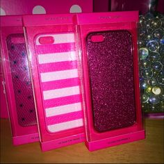 {Victoria Secret} iPhone 5/5s bundle of cases ❌NO TRADES ❌NO HOLDS ❌NO PP ✮ITEMS ARE 100% AUTHENTIC   ✮PLEASE DO NOT RATE ME BASED UPON FIT/SIZE OF YOUR ITEM. ASK FOR MEASUREMENTS OR PURCHASE AT YOUR OWN RISK✮ Victoria's Secret Accessories Phone Cases