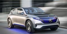 Bu 400 beygirlik elektrik crossover suv kavramı bize göstersen Mercedes-Benz ' un geleceği.