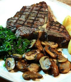 Grilled T-Bone Steaks  http://www.losfoodiesde.com/