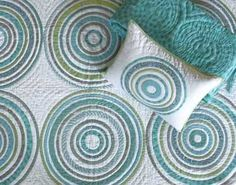 This Denyse Schmidt quilt is the bedding for Baby 2 :)