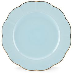 "Marchesa Shades Blue 10.75"" Dinner Plate By Lenox"
