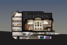 New pavilion at the Montréal Museum of Fine Arts