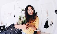 "4,592 Likes, 77 Comments - Krist Yu  (@krist.yu) on Instagram: ""Haters can go sit on this cactus. """