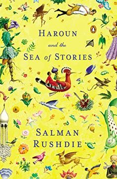 Haroun and the Sea of Stories by Salman Rushdie http://www.amazon.com/dp/0140157379/ref=cm_sw_r_pi_dp_Upwmvb11R3MAR