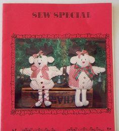 New - Unused  Deer Christmas - 7 Reindeer bean bags - 2 Styles  By Sew Special…