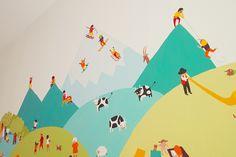 graphisme et illustration - Lausanne Graphic, Decoration, Illustration, Cabinet, Design, Home Decor, Decor, Clothes Stand, Decoration Home