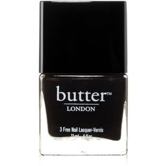 butter LONDON Nail Lacquer, White Pink Shades, Trout Pout (21 SGD) ❤ liked on Polyvore