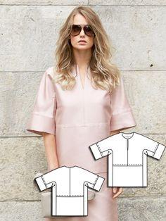 Luxe Tee 10/2013 #117 http://www.burdastyle.com/pattern_store/patterns/luxe-tee-102013?utm_source=burdastyle&utm_medium=blog&utm_campaign=bsawblog100713-feline-luxeteetxt