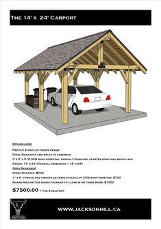 16x24 timber frame plan picnics storage sheds and cabin for 16x24 garage kit