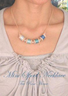 Mini Spool Necklace Tutorial