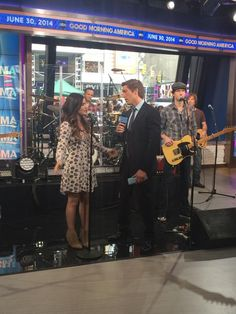 """Lucy Hale and David Muir talk her new album """"Road Between"""" on GMA #PLL #PrettyLittleLiars"""